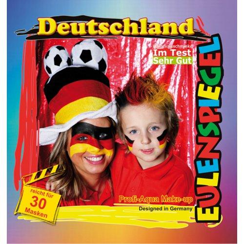 Sada barev na obličej - Německo