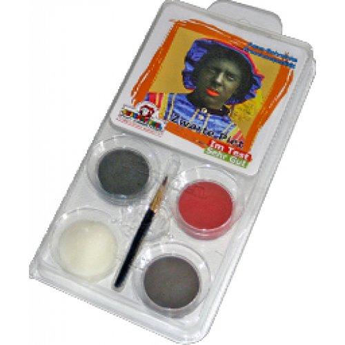 Sada barev na obličej - Černý Petr