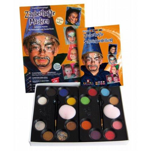 Magické masky v paletě - Sada barev na obličej