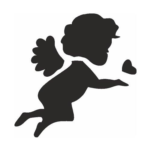 Samolepící šablony - Andělíček