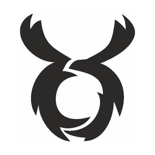 Samolepící šablony - Býk