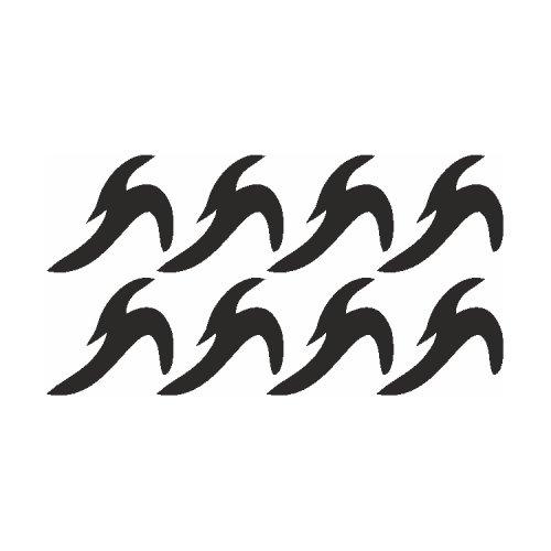 Samolepící šablony - Vodnář