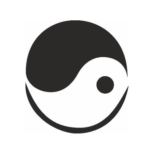 Samolepící šablony - Yin-Yang