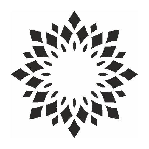 Samolepící šablony - Kaleidoskop