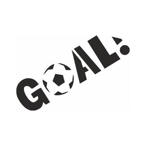 Samolepící šablony - Goal