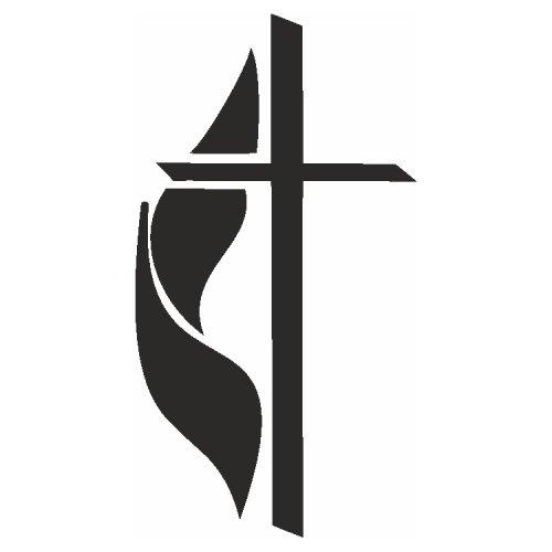 Samolepící šablony - Kříž II.