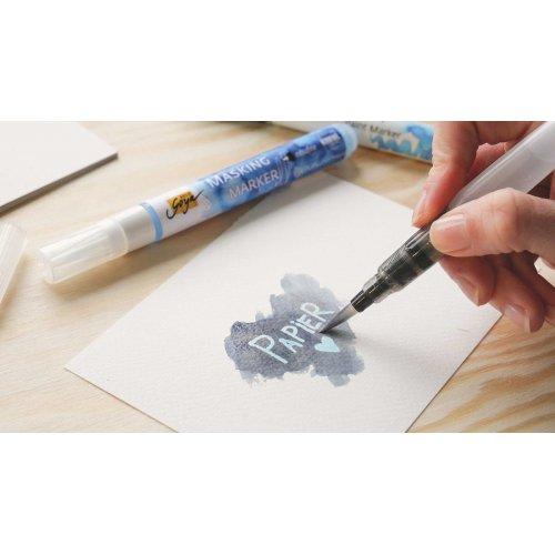 Maskovací marker pro akvarel SOLO GOYA 1-2 mm - 181_SOLOGOYA_MaskingMarker_Image2.jpg