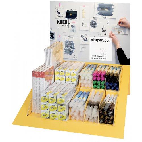 KREUL PaperLove prodejní display