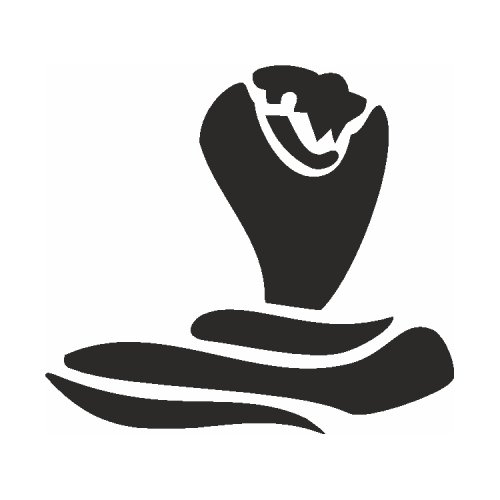 Samolepící šablony - Kobra