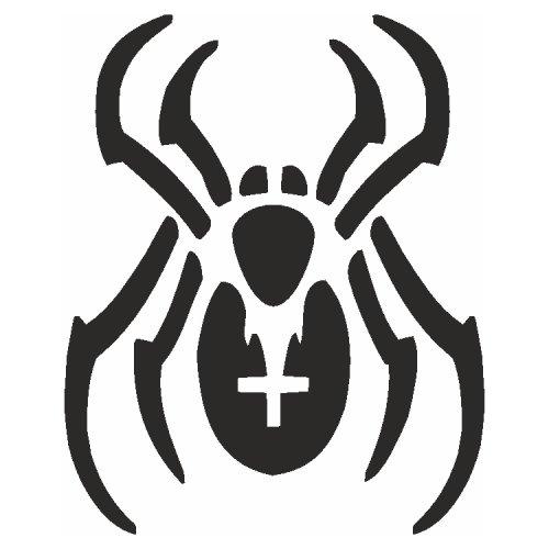 Samolepící šablony - Pavouk
