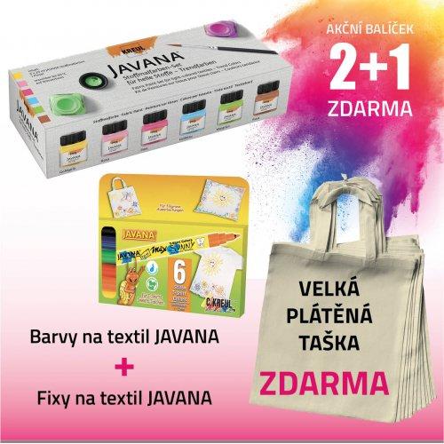 Akční balíček č. 6 - barvy + fixy + taška