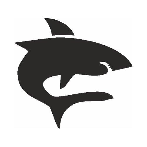 Samolepící šablony - Žralok
