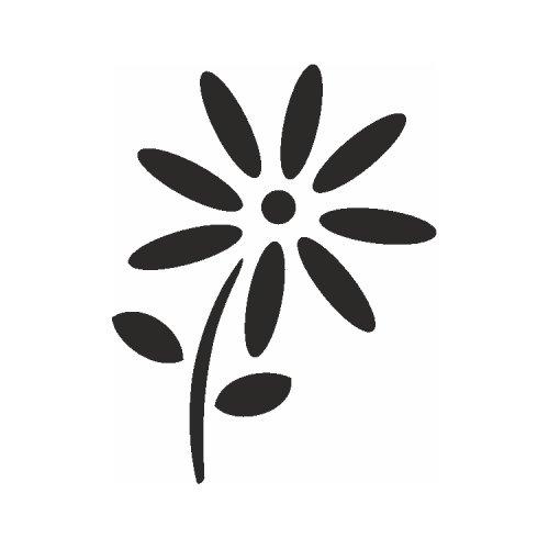 Samolepící šablony - Sedmikráska