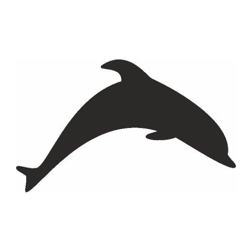 Samolepící šablony - Delfín