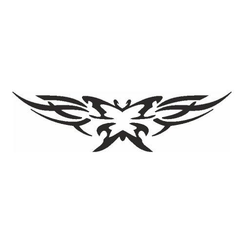 Samolepící šablony - Vzorovaný motýl