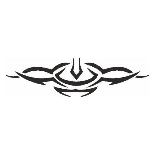 Samolepící šablony - Symetrický vzor