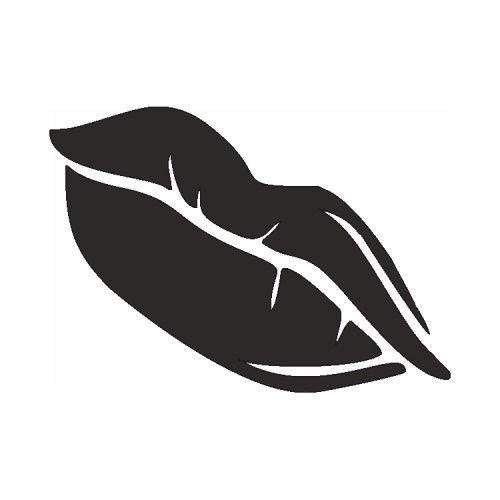 Samolepící šablony - Rty