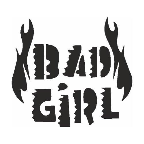 Samolepící šablony - Zlá holka