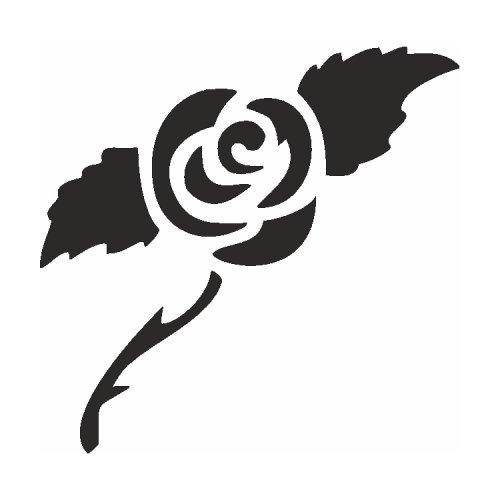 Samolepící šablony - Růže