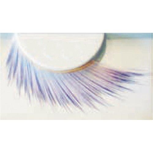 Umělé řasy - Bílo-fialové