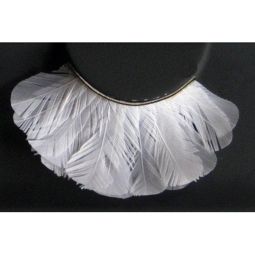 Umělé řasy - Bílé peří