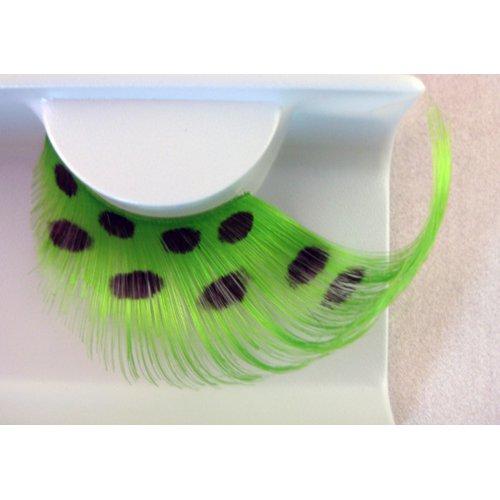 Umělé řasy - Zelené peří