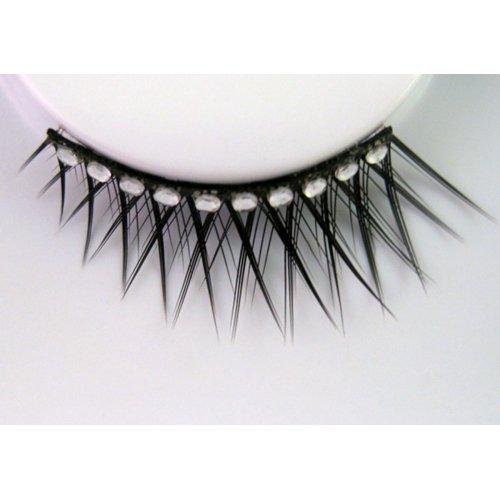 Umělé řasy - Černé - krátké a dlouhé s perličkami