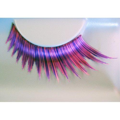 Umělé řasy - Růžovo-fialové