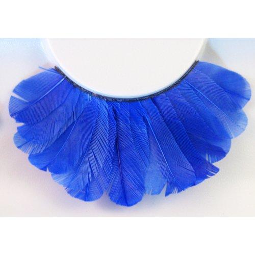 Umělé řasy - Modré peří