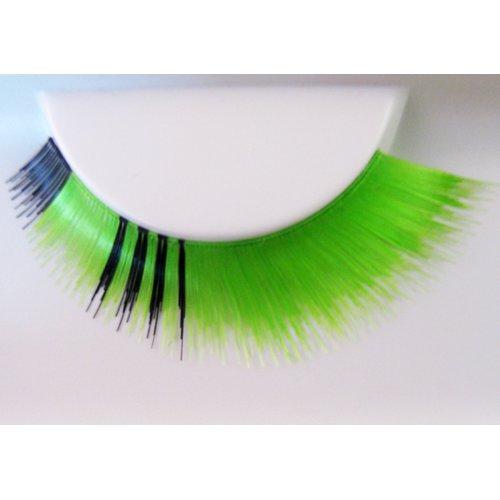 Umělé řasy - Zeleno-černé