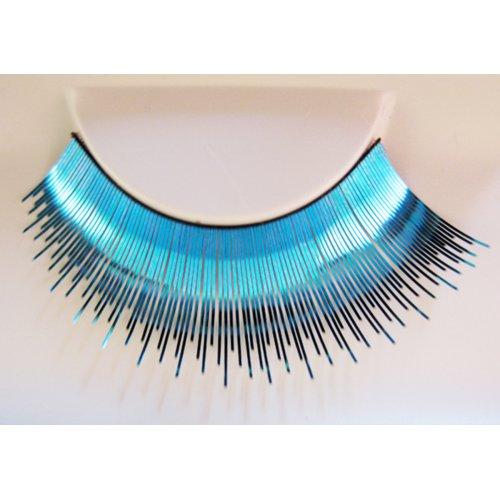 Umělé řasy - Nebeská modř metalická