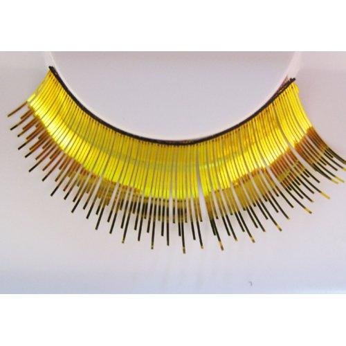 Umělé řasy - Zlaté metalické