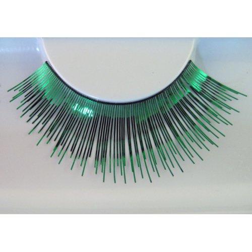 Umělé řasy - Zelené metalické