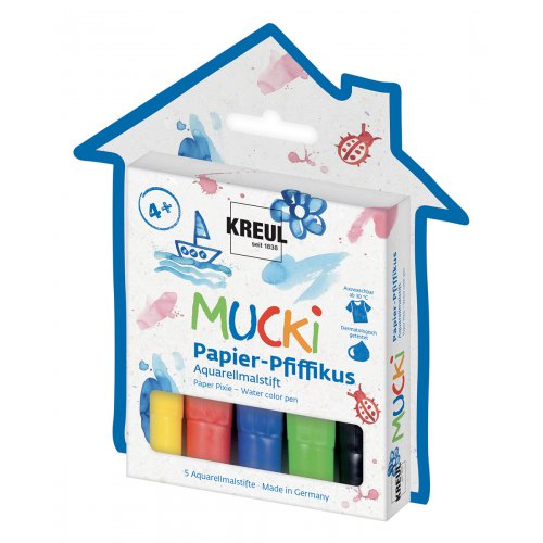 Fixy na papír MUCKI FIFIKUS 5 barev