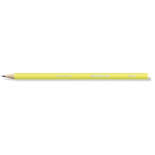 """Grafitová tužka """"Wopex Neon 180"""", HB, šestihranná, žlutá, STAEDTLER"""