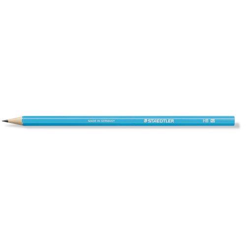 """Grafitová tužka """"Wopex Neon 180"""", HB, šestihranná, modrá, STAEDTLER"""