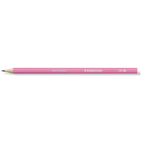 "Grafitová tužka ""Wopex Neon 180"", HB, šestihranná, růžová, STAEDTLER"