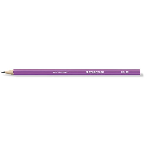 """Grafitová tužka """"Wopex Neon 180"""", HB, šestihranná, fialová, STAEDTLER"""
