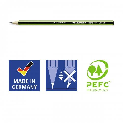 "Grafitová tužka ""Noris eco"", 2H, šestihranná, STAEDTLER - 180 30-2H_01.jpg"