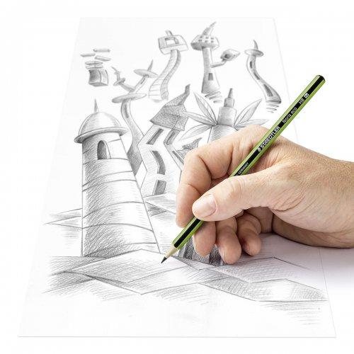 "Grafitová tužka ""Noris eco"", 2H, šestihranná, STAEDTLER"
