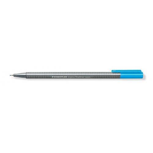 """Liner """"Triplus"""", neon modrá, 0,3 mm, STAEDTLER"""