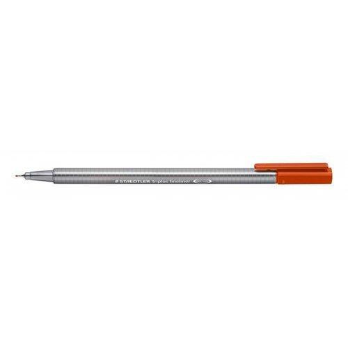 "Liner ""Triplus 334"", oranžová kalahari, 0,3mm, STAEDTLER"