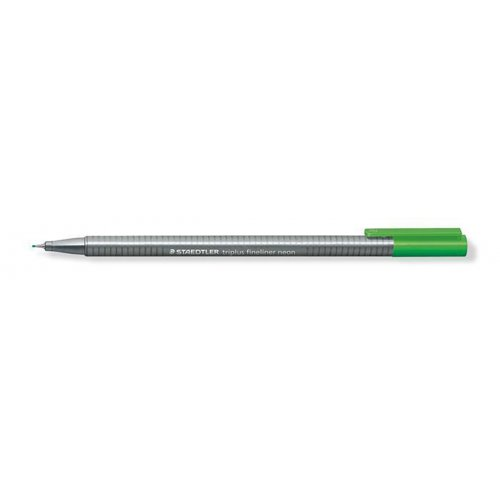 "Liner ""Triplus"", neon zelená, 0,3 mm, STAEDTLER"