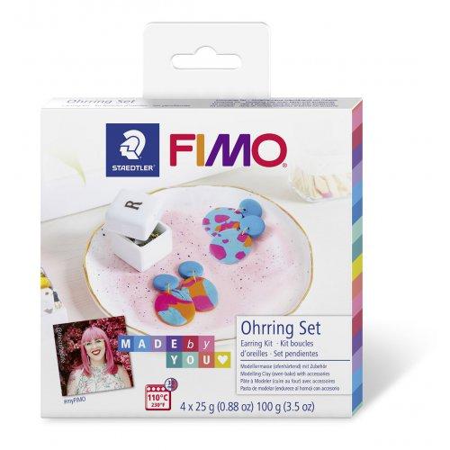 FIMO Soft Sada DIY Naušnice