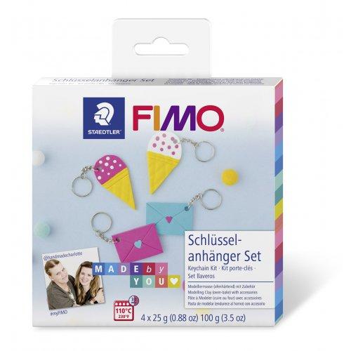 FIMO Soft Sada DIY Přívěsek na klíče BFF