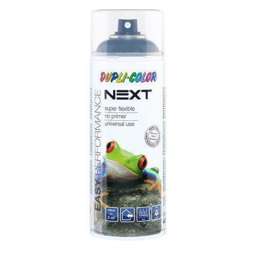 Barva ve spreji lesklá NEXT 400 ml ANTRACITOVÁ