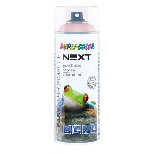 Barva ve spreji polomatná NEXT 400 ml RŮŽOVÁ