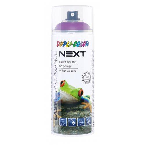 Barva ve spreji polomatná NEXT 400 ml PURPUROVÁ