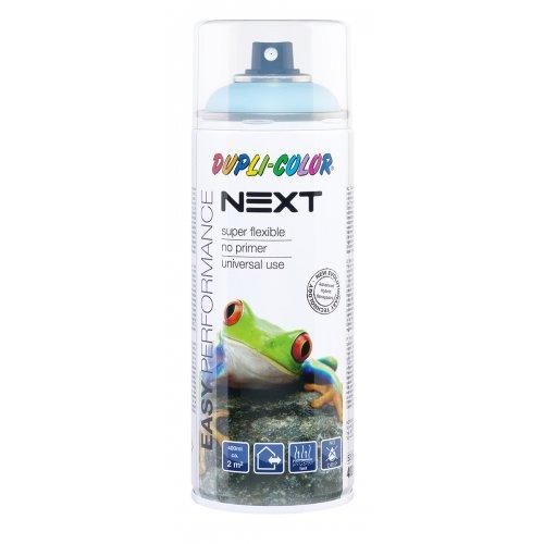 Barva ve spreji polomatná NEXT 400 ml SVĚTLÁ MODRÁ