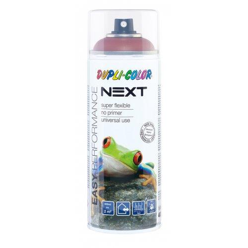 Barva ve spreji polomatná NEXT 400 ml HNĚDÁ